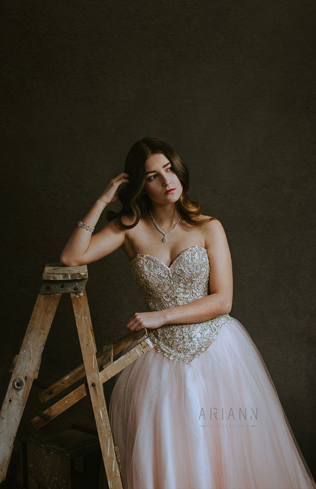 prom glam photography