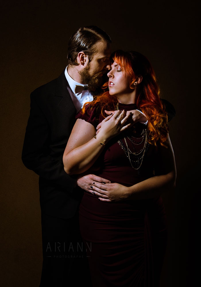 glamour couple photography