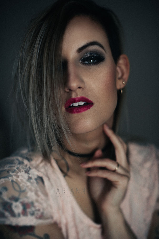 portrait glam
